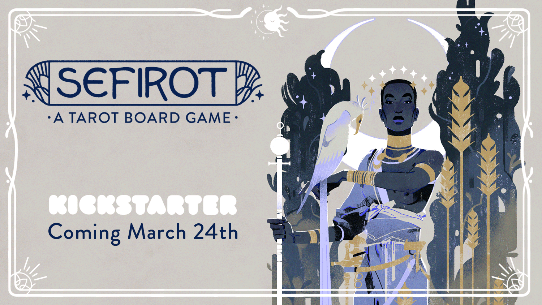 Sefirot Tarot Kickstarter Boardgame